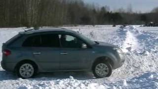 Foresterclub.lt winter GM2010. Fantomas with Renault Koleos