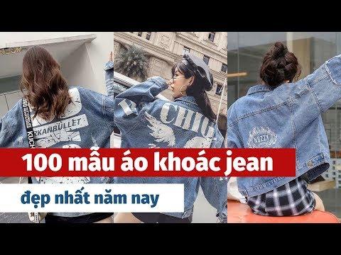 100 Mẫu áo Khoác Jean Cho Nữ đẹp Nhất Năm Nay