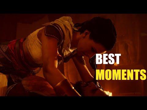 Bayek Aya Best moments  Assassins Creed Origins