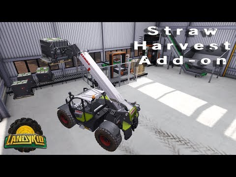 Farming Simulator 17 | the west coast | Straw Harvest Add-on | trying out the other stuff