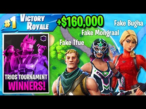 This FAKE Tfue, Mongraal & Bugha Are DOMINATING Every Tournament...