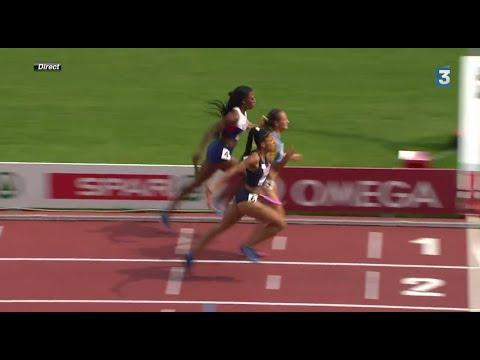 Finish INCROYABLE - France relais 4x400m Femme Championnat d'Europe 2014 Women - Incredible finish