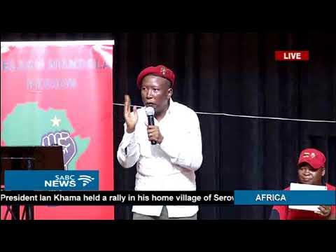 Julius Malema full speech in N Mandela Bay rally