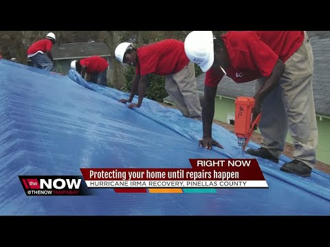 'Operation Blue Roof' helps fix damaged roofs