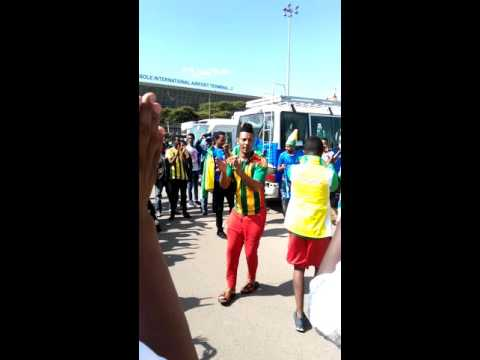 Ethiopia football supporters