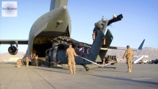 HH-60G Helicopters Eaten by C-17 Cargo Aircraft