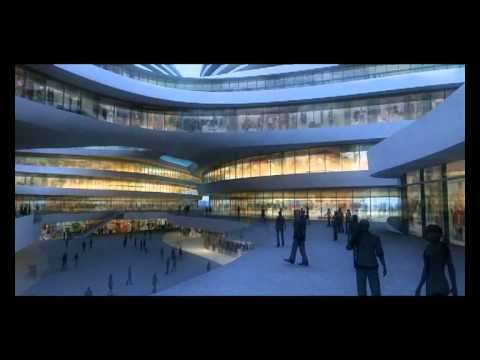Galaxy Soho © Zaha Hadid Architects