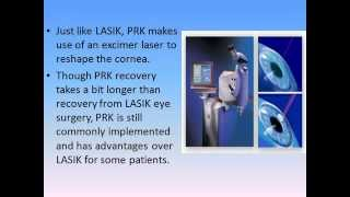 The Differences between PRK and LASIK eye surgery