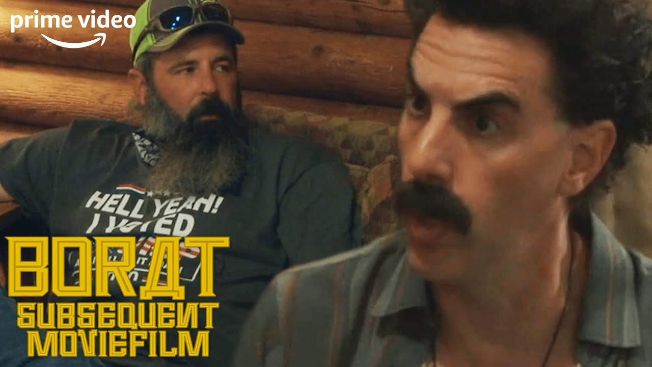 Download Borat Learns About The 'Dangers Of The Democrats' | Borat: Subsequent Moviefilm | Prime Video