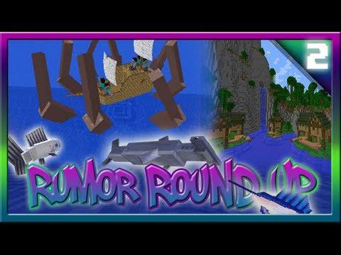Minecraft 17 Kraken Giant Squid Jungle Villages Rumor Round Up