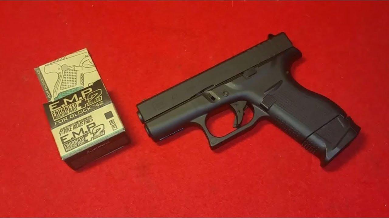 VFC Glock 42 Update / Extended Magazine Plate / deutsch /german