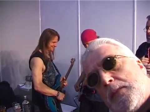 Backstage with Deep Purple in Greece April 2000