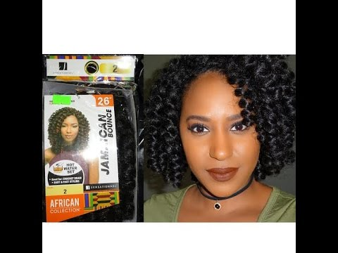 Crochet Hair Jamaican Bounce : Crochet Braids Jamaican Bounce Hair First Impression - YouTube