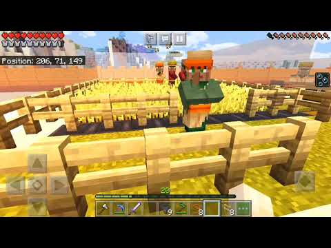#how To Make Automatic Bread Farm In Minecraft PE|| In Hindi