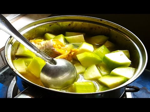 How To Make Health Fish Soup With Wax Gourd - Cambodian Traditional Recipe In My Village