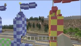 Harry Potter Adventure Map w/ Download - Minecraft (Xbox 360)