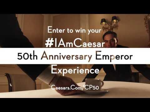 Caesars Palace 50th Anniversary - #IAmCaesar Sweepstakes Video