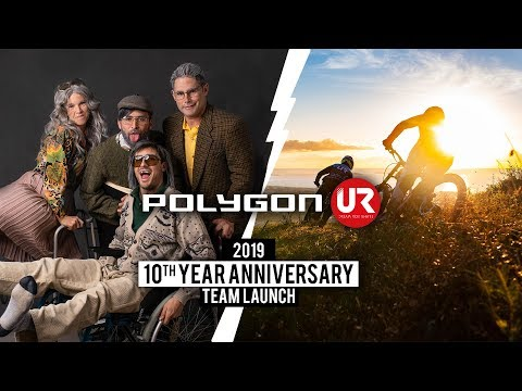 Never Too Old To Have Fun And Send It - Polygon UR 10th Year Anniversary Launch