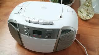 포터블 카세트 CD플레이어 아이리버 IAT30