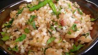Sabudana Khichdi (spiced Tapioca Sago) Indian Recipe