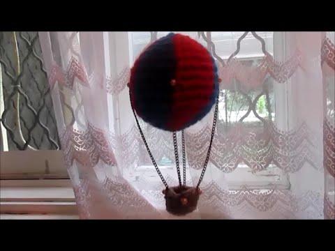 Amigurumi hot air balloon 1 tutorial crochet Vertical color change