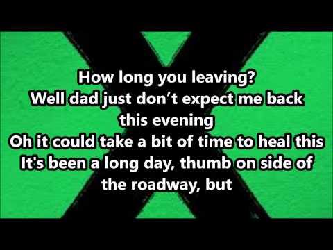 Ed Sheeran - Runaway (Lyrics)