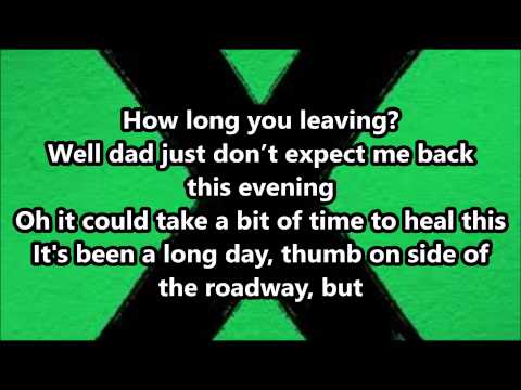 Ed Sheeran - Runaway (Lyrics)