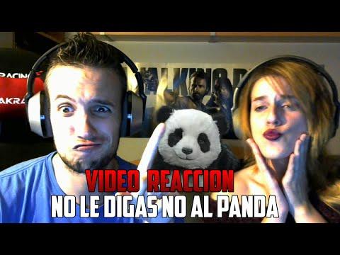 NO LE DIGAS  NO AL PANDA | YUGO Y YAIMA VÍDEO REACCIÓN