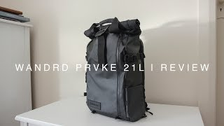 WANDRD PRVKE 21L | Review | Our new favourite Travel Camera Backpack (4k)