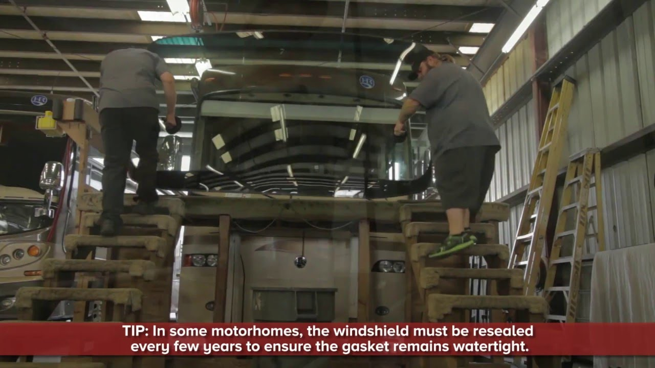RV Glass & Windshield Repair, RV Glass Replacement | Lazydays