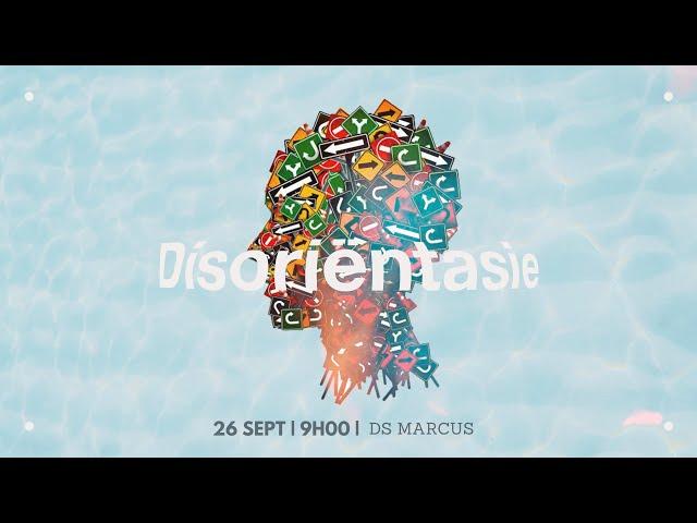 26 Sept   Disoriëntasie   Ds Marcus