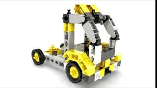 ENGINO Toys. The new construction toys for all ages! Engino Play to Invent Building Toy 16 models