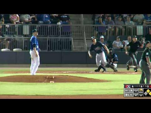 Mississippi's Godfrey hits three-run homer
