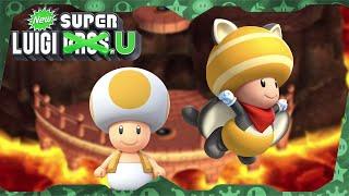 New Super Luigi U Deluxe ᴴᴰ   World 8 (All Star Coins) Solo Toad