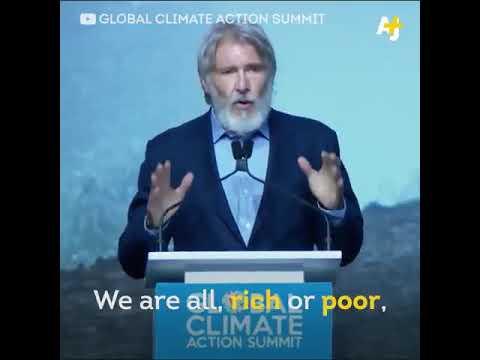 Harrison Ford  speech