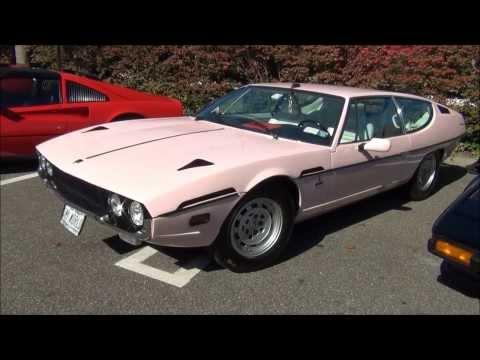 Pink Lamborghini Espada In Manhasset NY