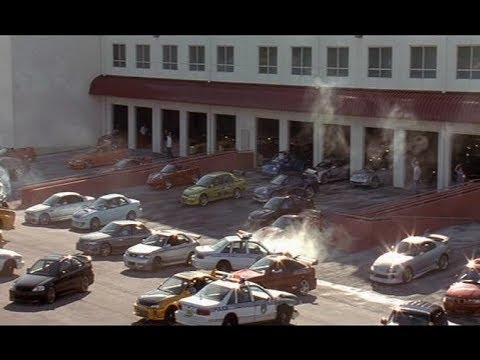 2 Fast 2 Furious 2003 Police Chase Part 2