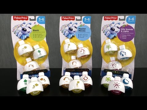 Think & Learn Code-a-pillar Expansion Packs from Fisher-Price