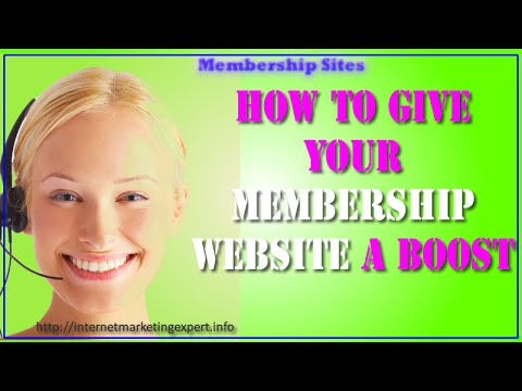 how to develop a membership website