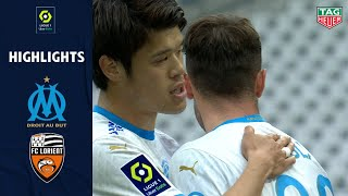 OLYMPIQUE DE MARSEILLE - FC LORIENT (3 - 2) - Highlights - (OM - FCL) / 2020-2021