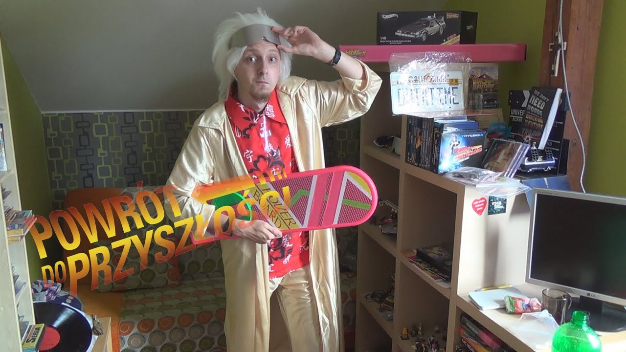 Célèbre Doc Brown 2015 Costume - YouTube PY19