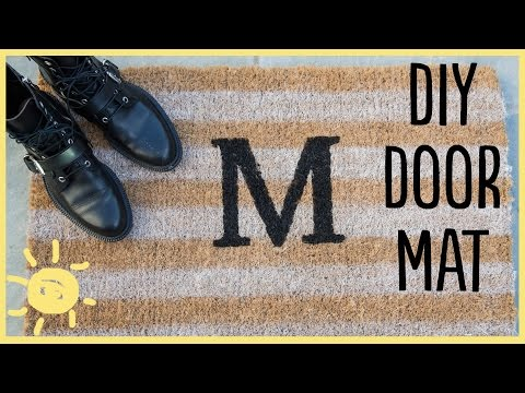 diy-|-monogram-doormat