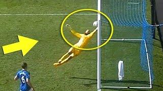 Top 15 Quick Goalkeeper Reflexes ● Amazing Saves HD