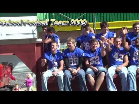 HUTCHINSON HIGH SCHOOL FOOTBALL TEAM 2009 HOMECOMING PARADE