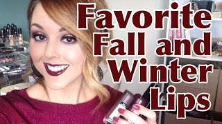 Favorite Fall/Winter Lips Thumbnail