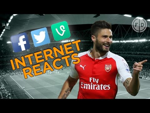 Arsenal 2-0 Bayern Munich! | Internet Reacts