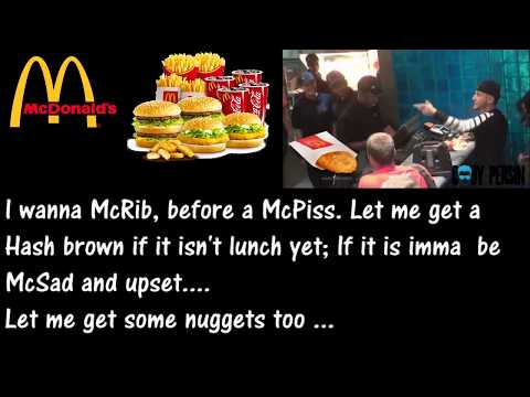 How To Order A McDonald's Like A Boss w/Lyrics