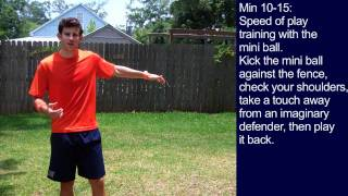 Drills in Soccer - 30 Minute Soccer Training Session #5 - Online Soccer Academy