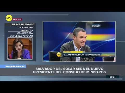 Salvador del Solar a la PCM: así reaccionaron los congresistas tras su designación 2/2