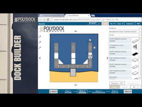 PolyDock Dock Builder - Design Your PolyDock Floating Dock S
